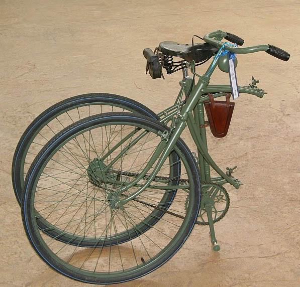 伞兵自行车