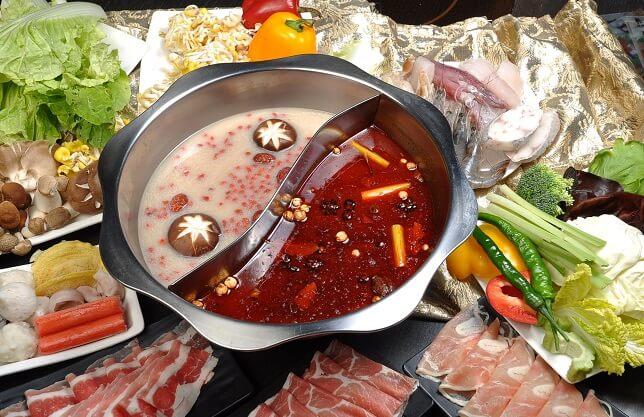 清真顺丰园老北京铜锅涮肉