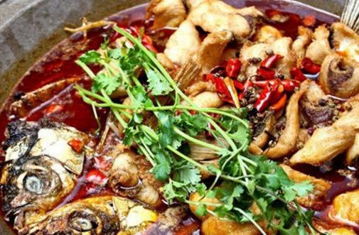 龙门石锅鱼