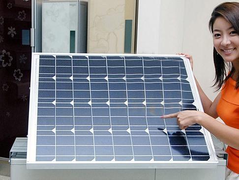 节能太阳能空调